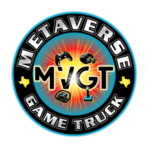 Metaverse game truck Austin Texas video game and virtual reality party
