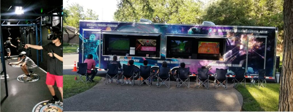 Metaverse Game Truck video game party